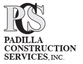 Padilla Construction Services logo